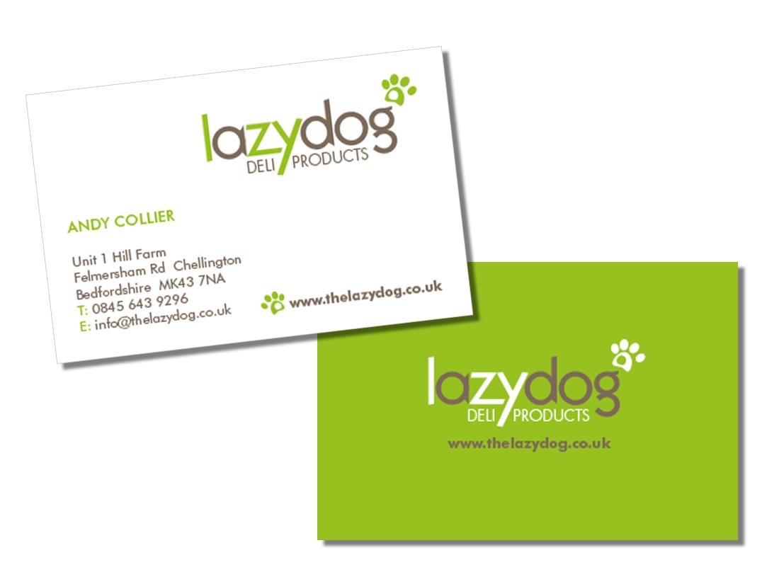 Lazy dog logo design voyant design graphic design in northampton business card design reheart Choice Image